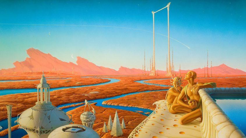 Crimen en Marte, de Arthur C. Clarke