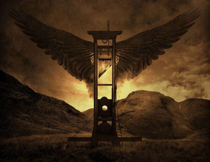 La sombra de la guillotina, de Washington Irving
